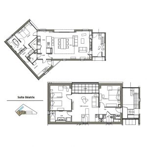 Plan suite Beatrix -ENTRESELETSABLE-