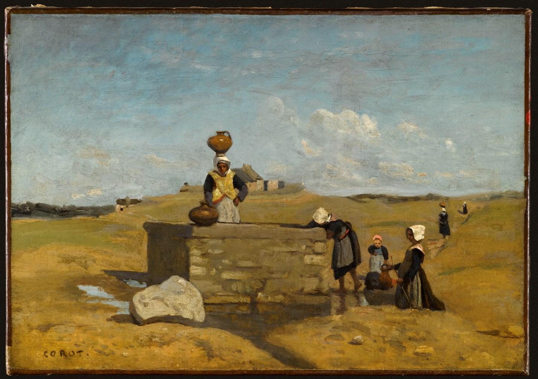 Corot Jean-Baptiste Camille (1796-1875). Paris, musée du Louvre. RF1941-4.