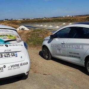 Voyage éco-responsable - voiture électrique ZOE et ZOE'